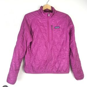 Patagonia Nano Puff Pullover in Pink